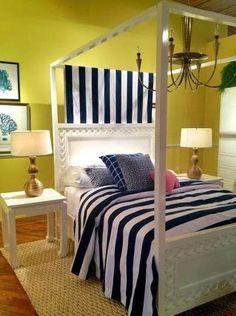 Idee per le pareti della camera da letto - Colore parete camera da letto verde acido