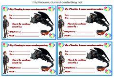Anniversaire :  Etiquettes invitations Dragon pour  http://nounoudunord.centerblog.net/rub-activite-anniversaire-etiquettes-.html