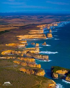 Rugged Coastline, The Twelve Apostles, VIC, Australia (1440) - Yegor Korzh :: Travel Photography