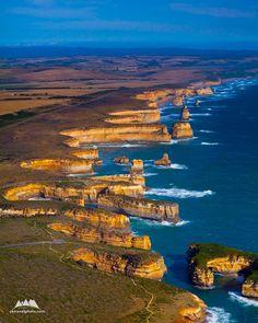 Rugged Coastline, The Twelve Apostles, VIC, Australia