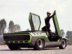 Alfa-Romeo Carabo Concept (Bertone) (1968)