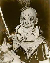 Old clown photo