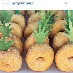 Pineapple donut dessert inspiration