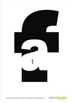 typography print ad 12