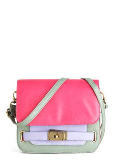 The Purse-onality Within Bag; I will always love this colour combination.
