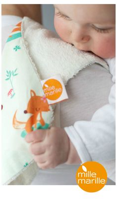 super sweet bamboo burb cloth...silky soft and antibacterial!  www.millemarille.com