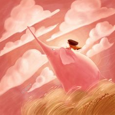 Never Stop Dreaming, Illustration Artists, Book Making, Illustrators, Book Art, Boy Or Girl, The Creator, Cards, Painting