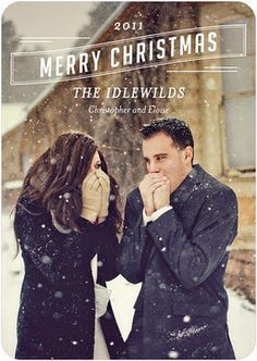 adorable family Christmas Card | For more awesome Christmas cards, follow us at http://www.pinterest.com/duoparadigms