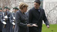 """Berlino, Matteo incassa la benedizione della Merkel: """"Con Renzi un cambio strutturale"""". è la #svoltabuona ??"""