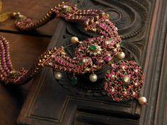 Temple jewellery from Tamil Nadu