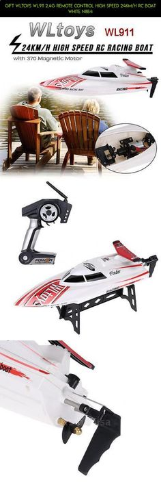 Gift WLtoys WL911 2.4G Remote Control High Speed 24km/h RC Boat White N8B4 #technology #racing #fpv #boat #plans #kit #wltoys #gadgets #shopping #speed #products #parts #drone #camera #tech
