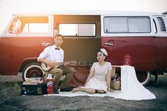 Another shot of our vintage e-session..