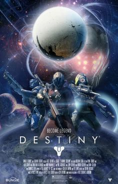 Destiny movie cover, but why R? Destiny would be pg-13 or pg if it was made a movie