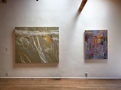 "The energy of Susan Petty's and Patricia Doyle's paintings is on display in our ""Coast"" exhibition thru Aug 21"