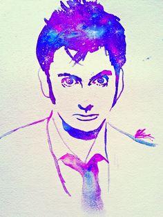 David Tennant Watercolor