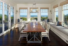 Dining room with an amazing view!