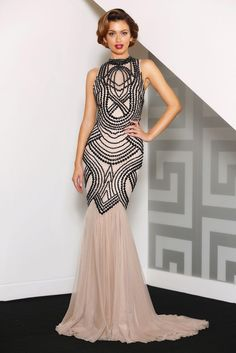 12b1dfc7483 Jadore Galaxy Gown find it and other fashion trends. Online shopping for  Jadore clothing. A beautifully beaded gown by jadore style Featuring a high.