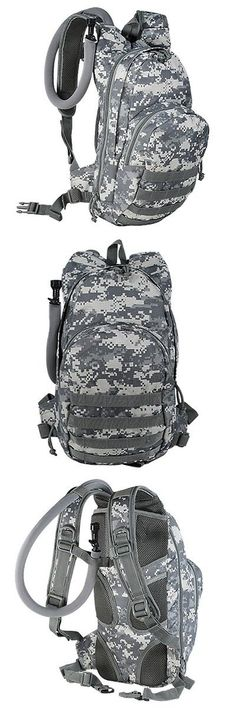 Water Carriers and Jerrycans 181409: Voodoo Tactical Msp-3 Expandable Hydration Pack W/ Universal Straps Army Digital BUY IT NOW ONLY: $63.95