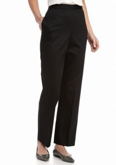 Alfred Dunner Black City Life Average Pants