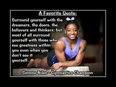 Gymnastics Poster Simone Biles Champion Gymnast Photo by ArleyArt