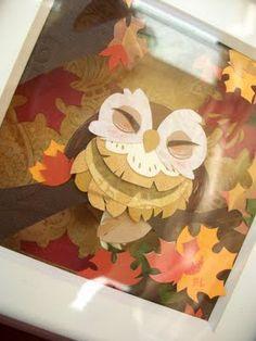 Brittney Lee: Paper! Owl Papercraft Art