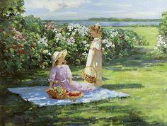 ЖИВОПИСЬ ПОЛЯ СВЕТОВ, цветы живопись маслом и мастихином | Полевые заметки