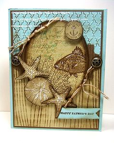 A Fishy Card for Dad