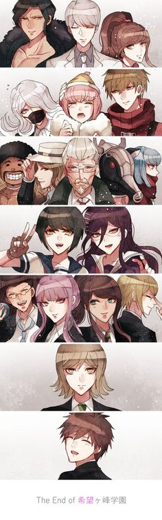 Why can't they be ok - Dangan Ronpa - DR3 future - DR3 hope - Gud art