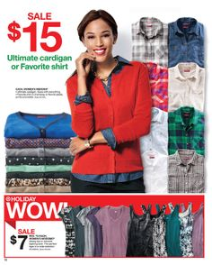 Target - Sale starts November 17, 2013 - November 23, 2013 November 23, Red Cardigan, Denim Shirt, Target, Leather Jacket, Fall, Winter, Jackets, Shirts