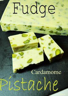 Fudge de la St.Patrick : Cardamome/Pistache/Chocolat blanc | Mon Bento Végétarien
