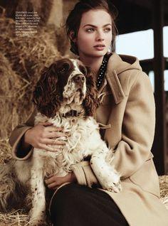 UK Harpers Bazaar July 2014 | Moa Aberg by Ben Weller