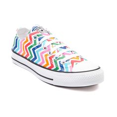 Shop for Converse All Star Lo Multi Chevron Sneaker in White Multi  54.99  Tyttöjen Kengät 431591082b