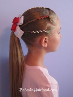 Would be great for 4th of July...use a blue bow with stars maybe.