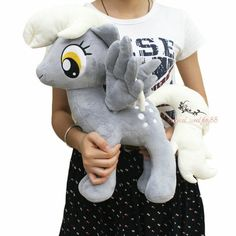 My Little Pony Friendship Is Magic Derpy Hooves Plush Doll Toy 16 5'' | eBay