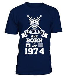 "# Legends are Born in 1974 T-Shirt .  Special Offer, not available in shopsNeed to change design? Contact us!      Comes in a variety of styles and colours      Buy yours now before it is too late!      Secured payment via Visa / Mastercard / Amex / PayPal / iDeal      How to place an order            Choose the model from the drop-down menu      Click on ""Buy it now""      Choose the size and the quantity      Add your delivery address and bank details      And that's it!      Legends are…"