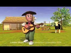 La Vaca Lola - Canciones de la Granja 2 - YouTube--early elementary or preschool