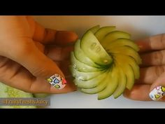 3 DELICIOUS LIFE HACKS CUCUMBER - ROSE FLOWER CUCUMBER & ART IN CUCUMBER - VEGETABLE CARVING - YouTube