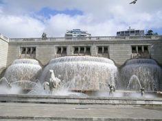 Alameda Fountain, Lisbon, Portugal