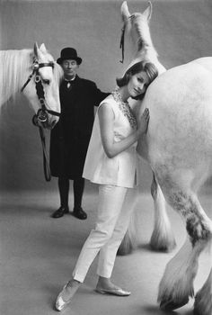 1959, London, for Vogue, by Frank Horvat