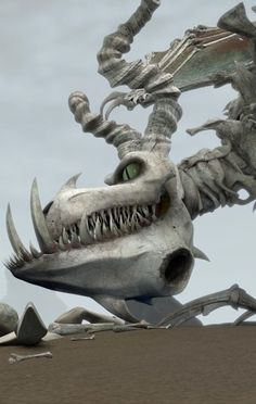 "Boneknapper is a mystery class dragon first featured in the 2010 short film ""Legend of the Boneknapper Dragon."""