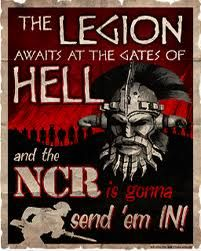 fallout new vegas legion poster Fallout Bos, Fallout Fan Art, Fallout Game, Fallout 4 New Vegas, Fallout Wallpaper, Fallout Posters, Gates Of Hell, New Poster, Video Game Art