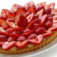 Strawberry Tart For Brunch A Food, Food And Drink, Quiche Pan, Strawberry Tart, Base Foods, Quiches, Brunch, Pudding, Treats