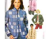 McCall's Sewing Pattern 4309 Misses'/Miss Petite Lined Jacket