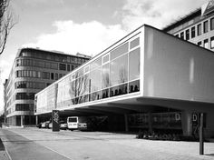 Former Persil School Munich, Germany 1956 Köngeter & amp