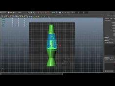 Autodesk Maya 2013 Tutorial - Lava Lamp