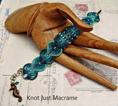 My Favorite Color in Micro Macrame and Giveaway Winner!