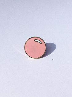 Special Edition Gold Plated Bubblegum Pin by warmbubblegum on Etsy