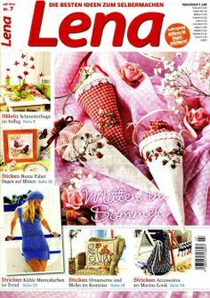 General Crafts - Many projects, big and small for sewing, cross-stitch, embroider, applique and crochet.