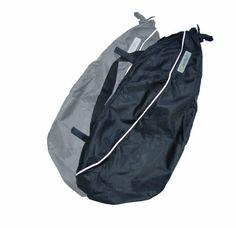 Hamster Buggy Bags - Bolsa para cochecito de bebé (2 unidades, apto para McLaren, Bugaboo Bee, Quinny Zapp, Phil & Teds), color negro