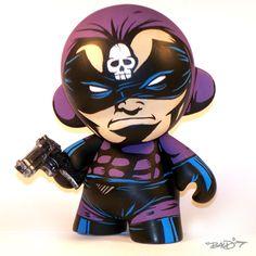 """Phantom Reduxe"" custom mini Munny by B.A.L.D."